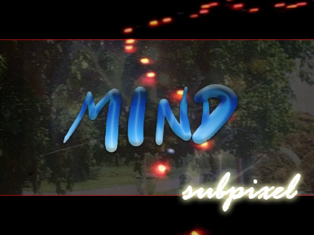 MIND visuals by subpixel