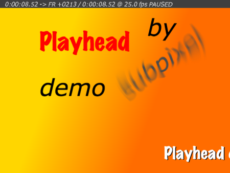 Processing sample: spxlPlayheadDemo_1_1